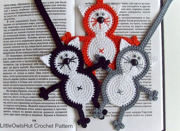 Free Crochet Bookmark Patterns