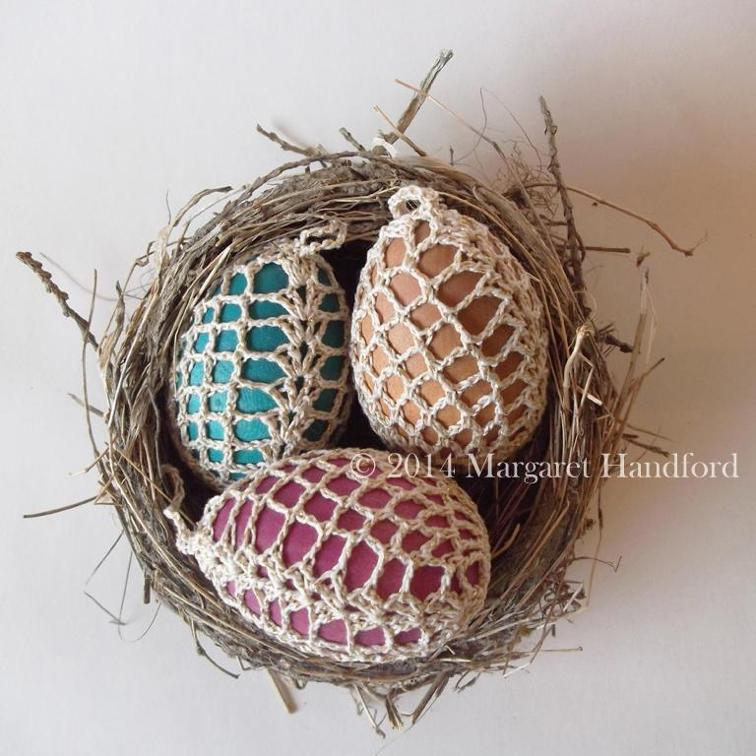 Art Deco Crochet Eggs Patterns