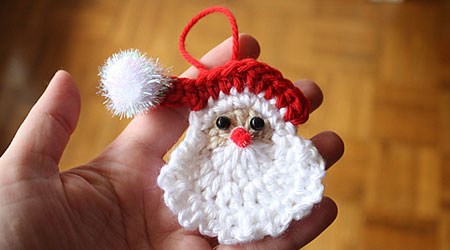 Easy Crochet Christmas Ornaments Patterns